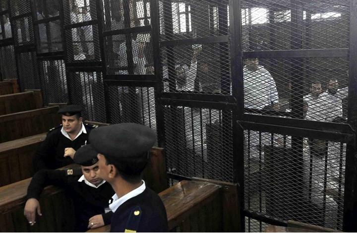 """مؤبدات وأحكام بسجن 146 إخوانيا وبراءة اثنين بقضية """"أبو قرقاص"""""""
