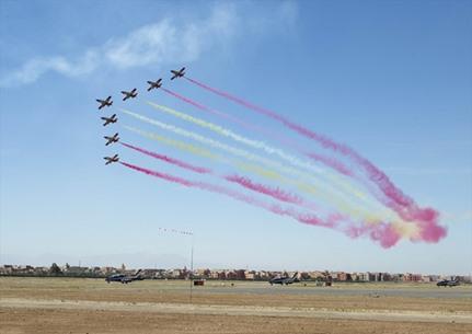 المعرض الدولي للطيران بمراكش المغربية - 04- المعرض الدولي للطيران بمراكش المغربية - الاناضول