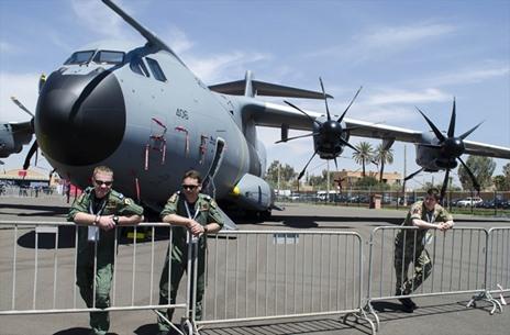 المعرض الدولي للطيران بمراكش المغربية - 06- المعرض الدولي للطيران بمراكش المغربية - الاناضول