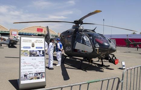 المعرض الدولي للطيران بمراكش المغربية - 08- المعرض الدولي للطيران بمراكش المغربية - الاناضول