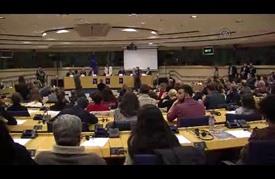 مؤتمر بالبرلمان الأوروبي يعرض معاناة المهاجرين عبر الحدود الإيطالية